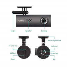 Load image into Gallery viewer, Xiaomi 70Mai Smart WiFi Car DVR 130 Degree Dash Cam 1080P Full HD Night Vision