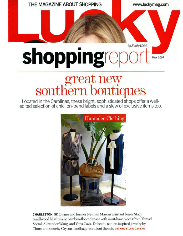 Lucky Mag - Great New Southern Boutiques - Feb 2007