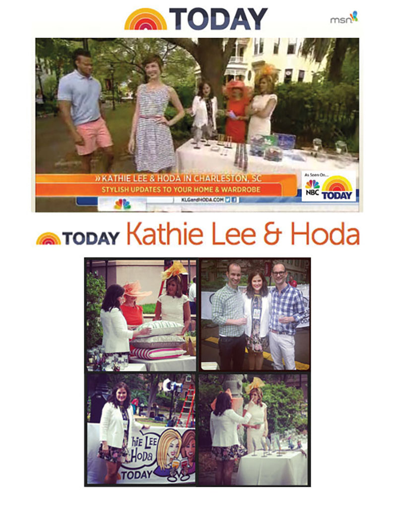 Video: Kathy Lee and Hoda in Charleston