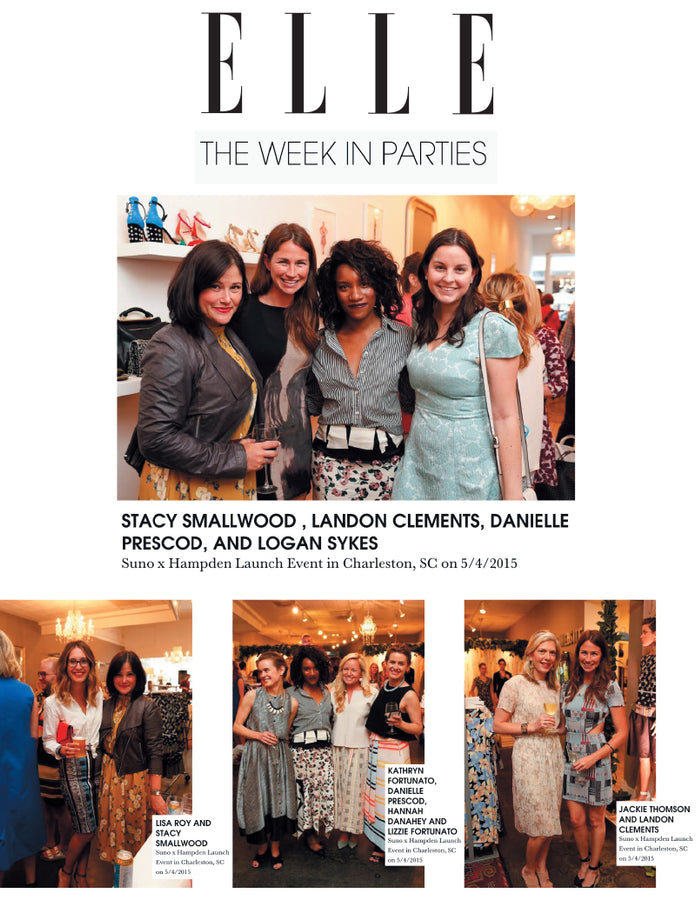 Elle.com - Suno x Hampden Party Pics - Jan 2015