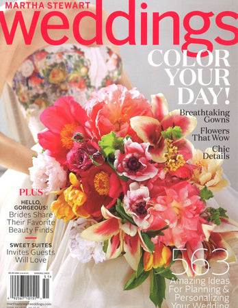 Martha Stewart Weddings - The Look Book - Jan 2015