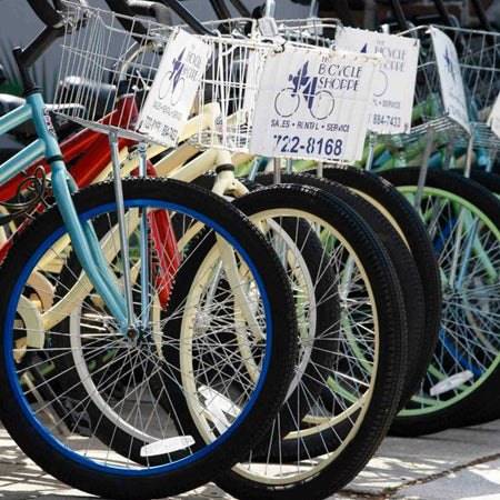 Bike Rentals at The Bicycle Shoppe