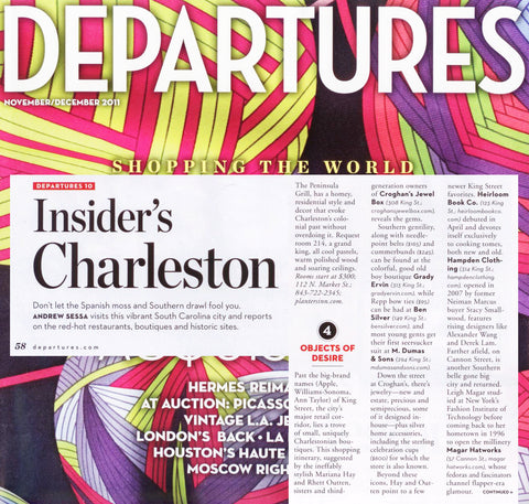 Departures - Insider's Charleston - Jan 2011
