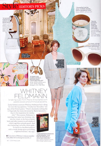 Lucky Mag - Editor's Picks - May 2014