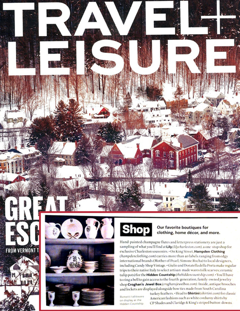 Travel + Leisure - Favorite Boutiques - Jan 2014