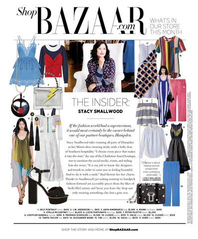 Harper's Bazaar - The Insiders - Jan 2016