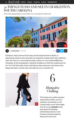 Harper's Bazaar - 50 Things To Do and See in Charleston