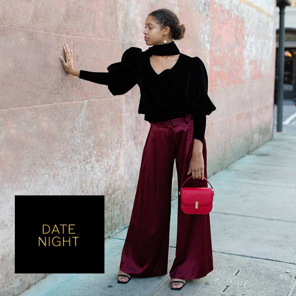 4 Holiday Outfits - Date Night