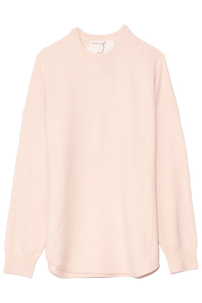 Crew Hop Cashmere Sweater in Talc