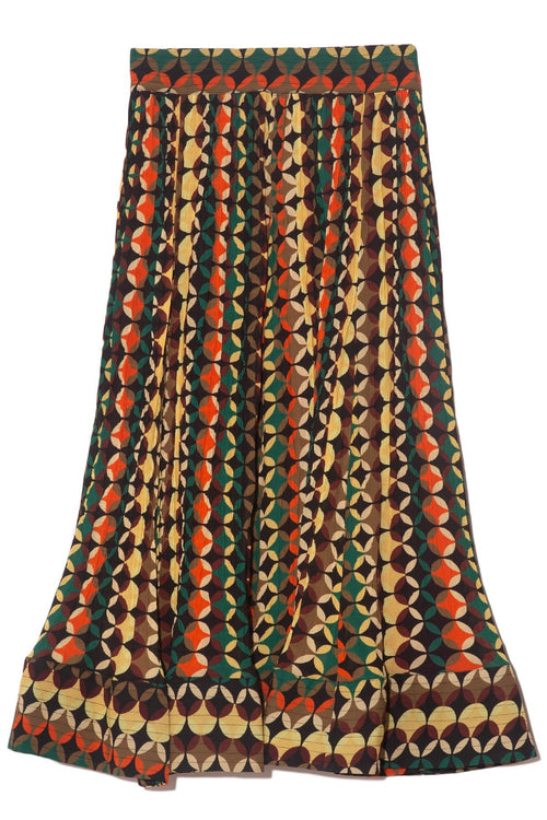 Venitian Skirt in Small Panton Stripe