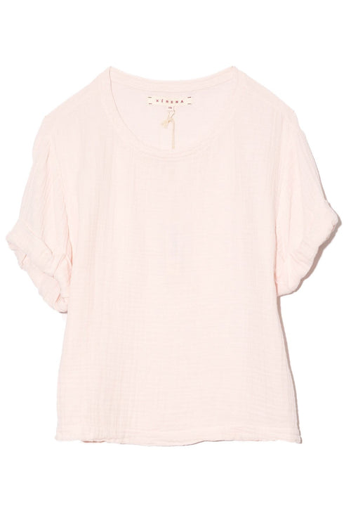 Savoy Top in Pink Glow
