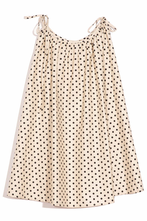 Dalila Dress in Polka Dots