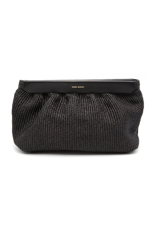 Luz Clutch in Black