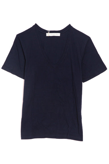 Victory V-Neck Tee in Classic Navy