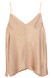 Pied de Poule Fluid Jacquard Top in The