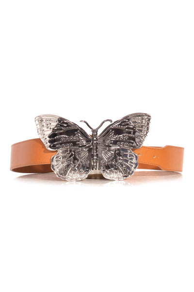 Butterfly Belt in Cognac