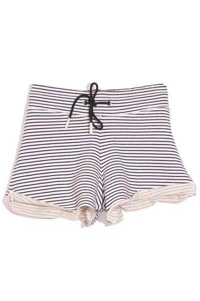 Fleece Sweat Short in Stripe