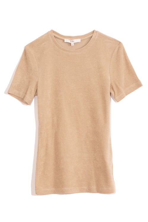 Dry Loop Terry Baby T in Tan