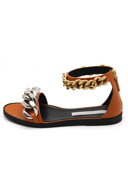 Falabella Sandal in Burnt Orange
