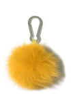Fox Pompom Keychain in Bergamote