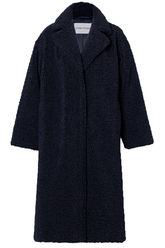 Maria Coat in Navy