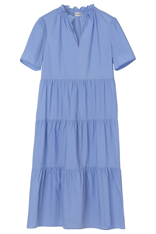 Alania Dress in Blue Iris