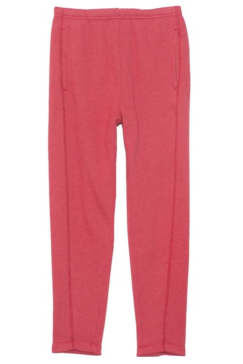 Crosby Sweatpant in Faded Red