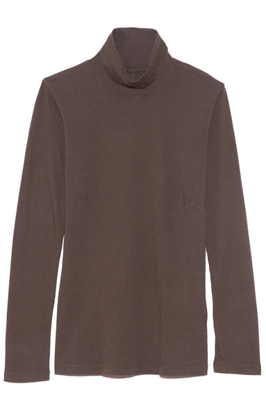 Long Sleeve Turtleneck in Dark Moss