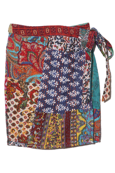 Ponza Skirt in Patchwork