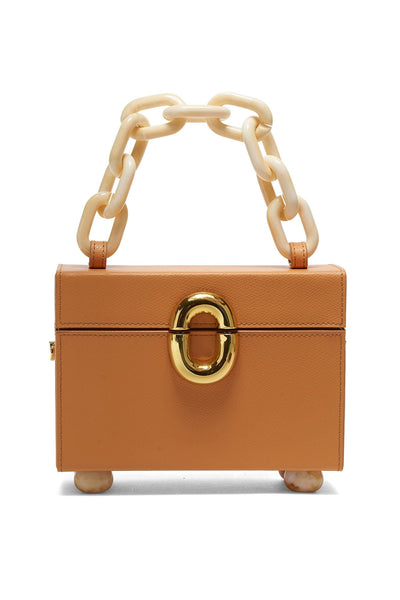 Cinema Box Bag in Butterscotch