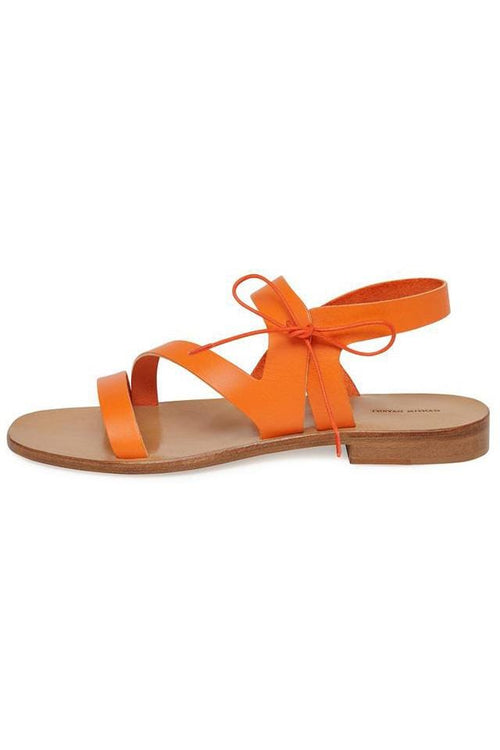 The Sandal in Orange
