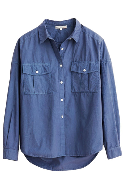 Keeper Button Down in Coastal Blue