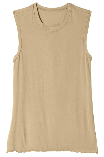 Muscle Tee in Khaki