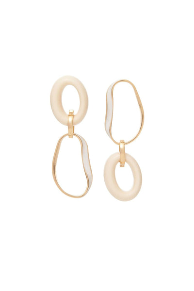 Hayet Earring in Ivory
