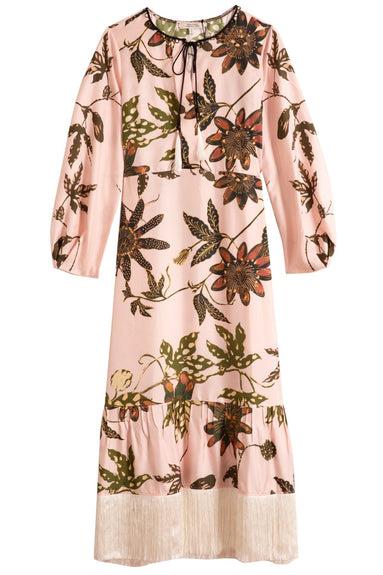 Powerful Flora Dress in Rose Passiflora TS