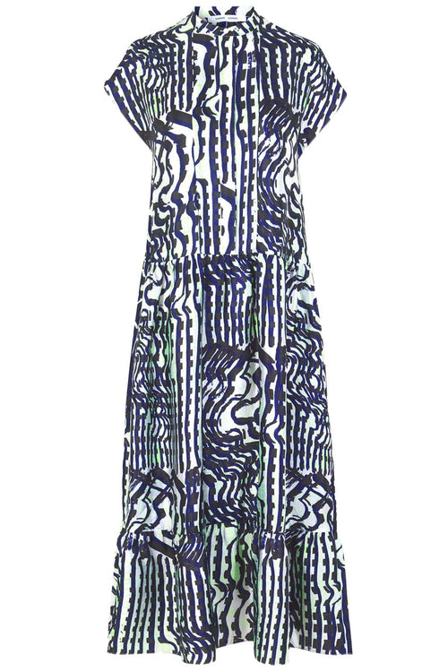 Margo Long Dress in Seismograph