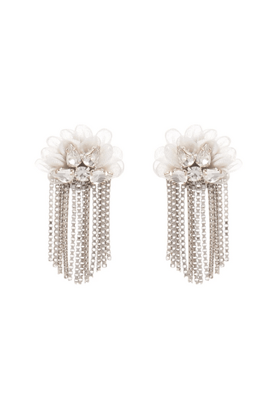 Mila Stud Earring in Ivory