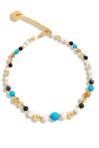 Cleo Beaded Necklace in Multi