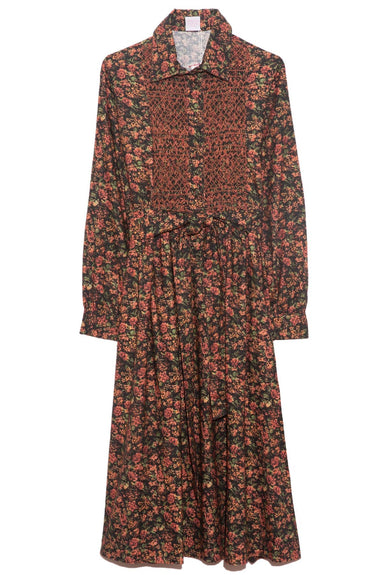 Lavinia Dress in Small Roses