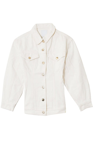 The Waisted Jacket in Pearl