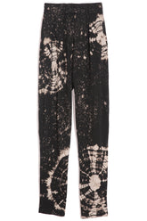 Easy Pant in Black Constellation Tie Dye