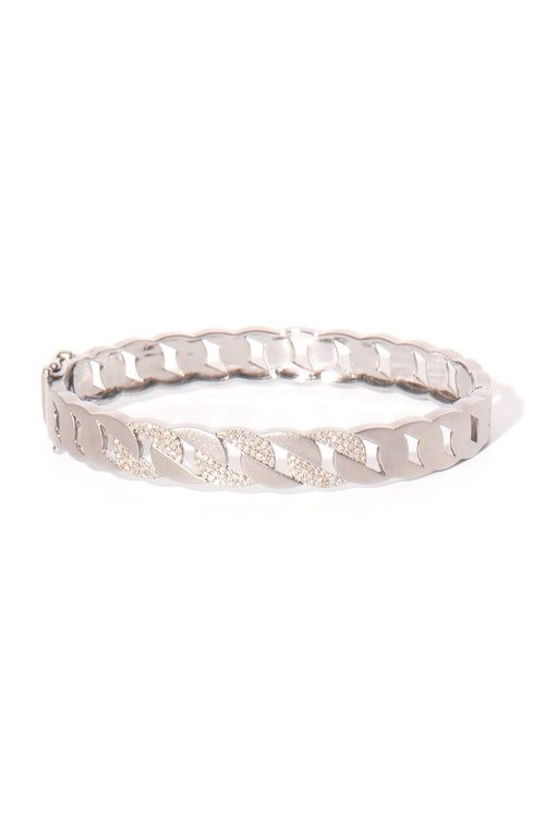 Sterling Weave Bangle