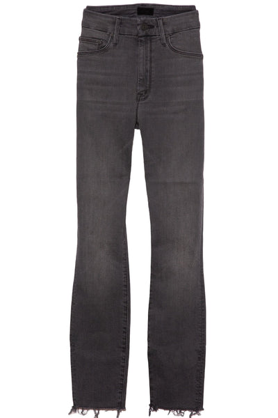 High Waisted Looker Ankle Fray Jean in Lighting Up Lanterns