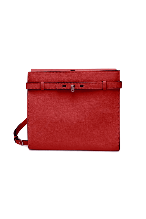 B-Tracollina Crossbody Bag in Red
