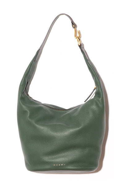 Small Pierce Bag in Spherical Green/Black
