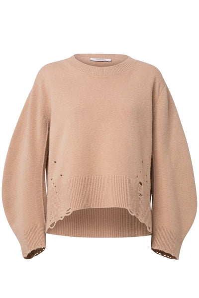 Inspiring Looks Pullover in Light Toffee