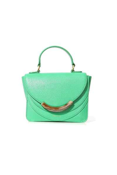Luna Mini Arch Bag in Grass Crust