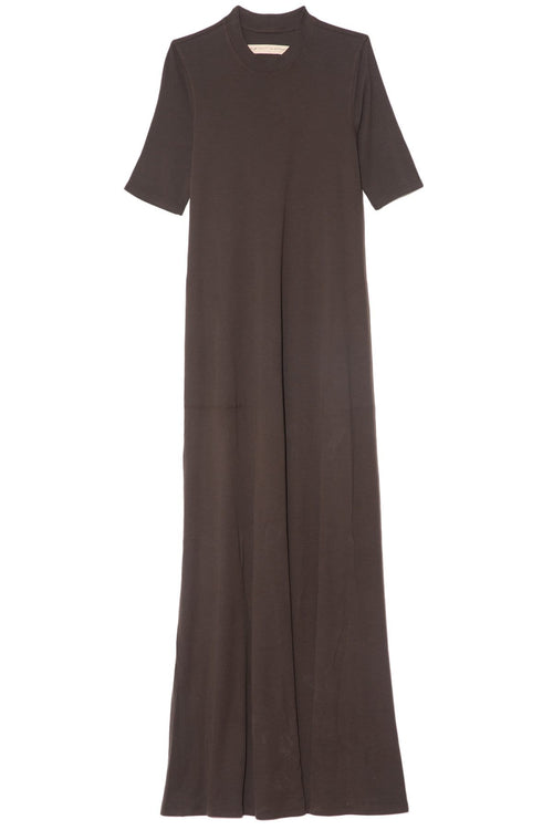 Mod Drama Maxi Dress in Dark Olive
