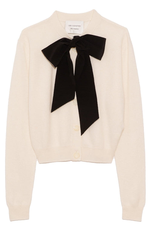 Mina Cardigan in Off-White