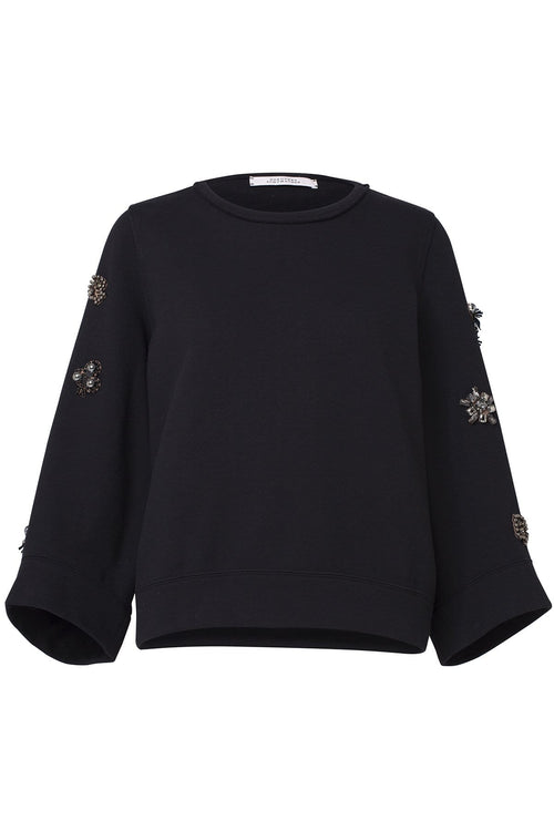 Casual Coolness Sweatshirt in Pure Black